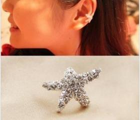 Fashion Starfish Ear Clip