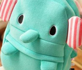 Fashon Cute Mint Elephant Bag