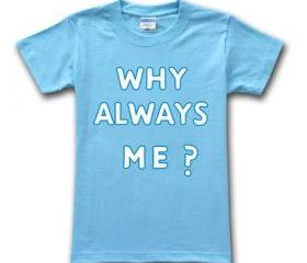 Why Always Me Balotelli Sports T-shirts Men's Short Sleeves T-shirt